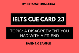 ielts cue card 23 by ieltsmaterial