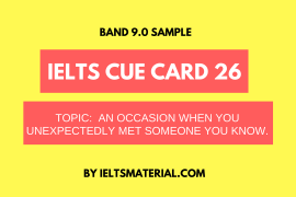 ielts cue card 26 by ieltsmaterial
