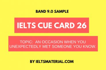 ielts cue card 26 by ieltsmaterial