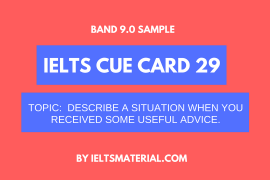 ielts cue card 29 by ieltsmaterial