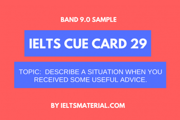 ielts cue card 29 by ieltsmaterial