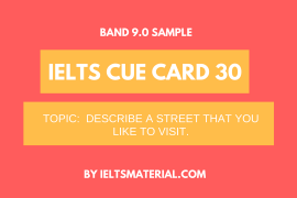 ielts cue card 30 by ieltsmaterial