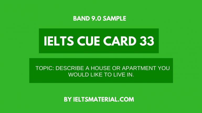 ielts cue card 33