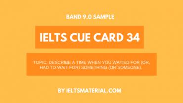 ielts cue card 34
