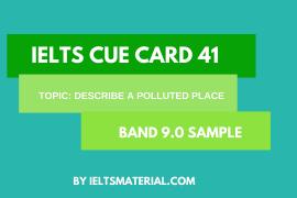 ielts cue card 41
