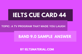 ielts cue card 44