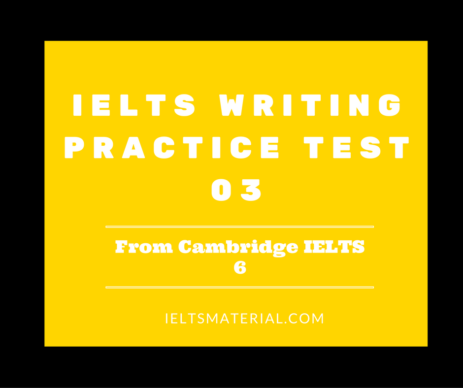 Ielts exam practice writing abc