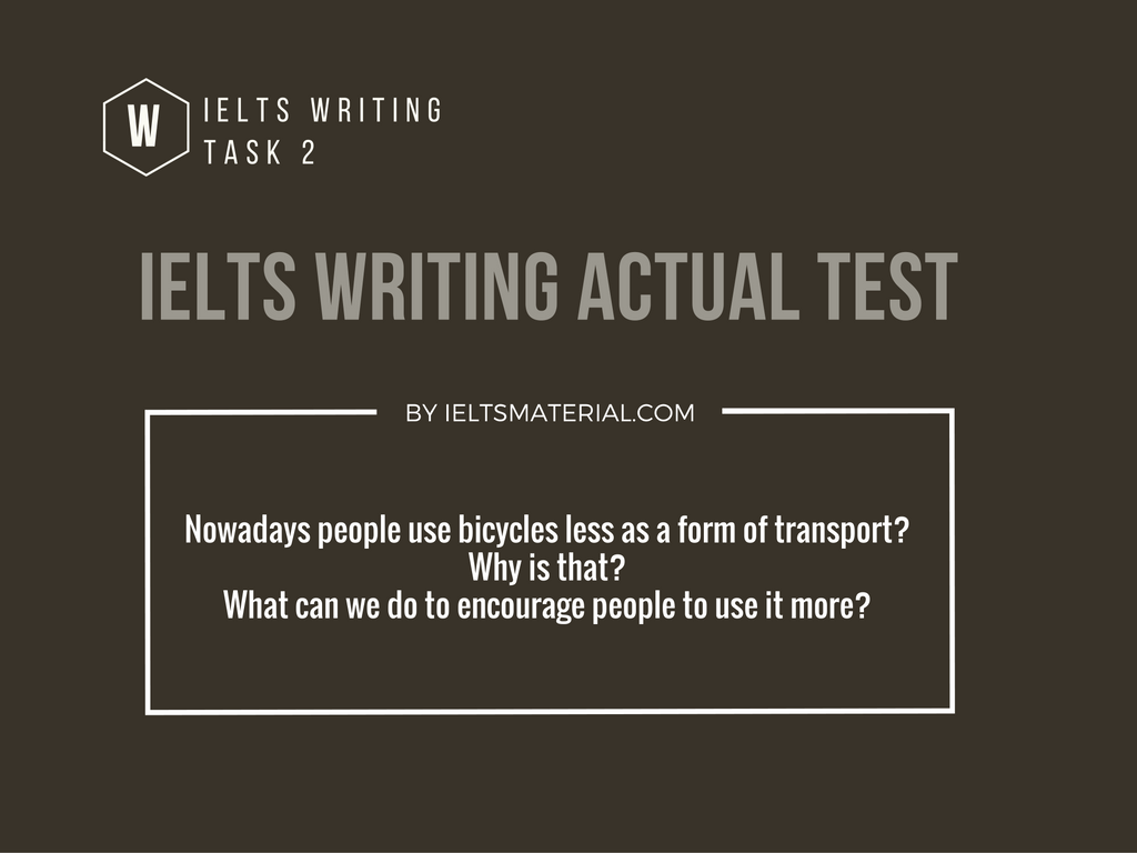 ielts writing actual test in august  2016  u0026 band 8 5