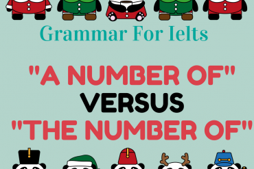 Grammar for ielts a-number-of-versus-the-number-of