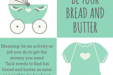 idiom of the day by ieltsmaterial - be-your-bread-and-buttersave-the-date