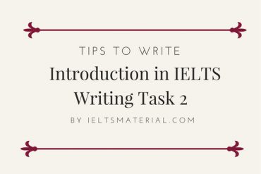 How to write introduction for ielts writing task 2