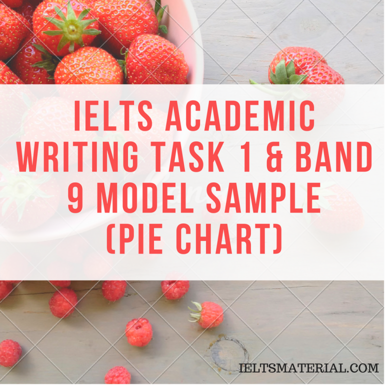 IELTS Writing Task 1: Bar Chart with Sample Answer