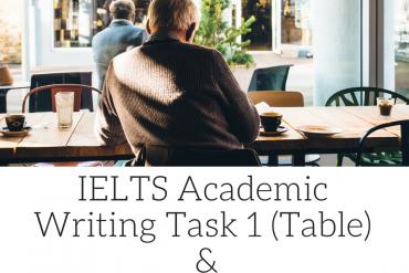 IELTS Writing Task 1: Tips, Videos, Model Answers & Info