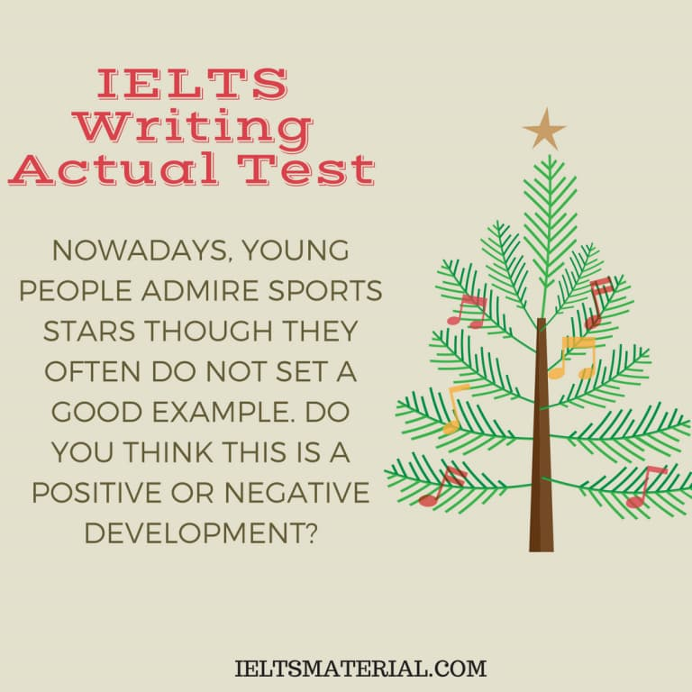 IELTS Writing Actual Test In May, 2016 & Band 9 Sample