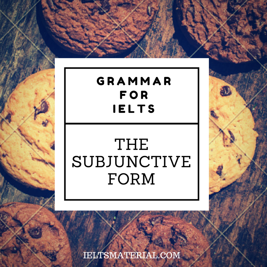 The Subjunctive Form