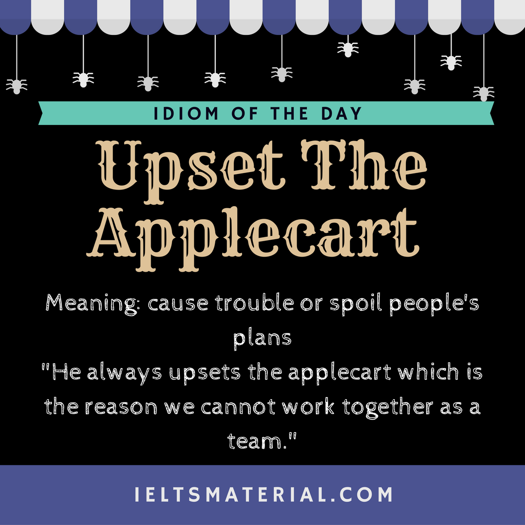 Upset The Applecart