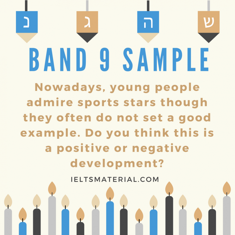 academic ielts writing task topic in band model band 9 sample