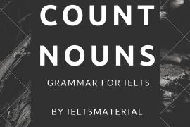 grammar for ielts by ieltsmaterial - count nouns