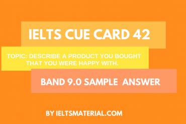 ielts cue card 42