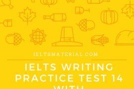 IELTS Writing Practice Test 14