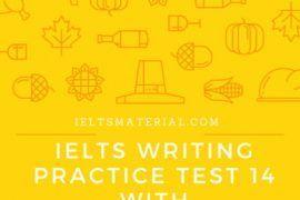 IELTS Writing Practice Test 14