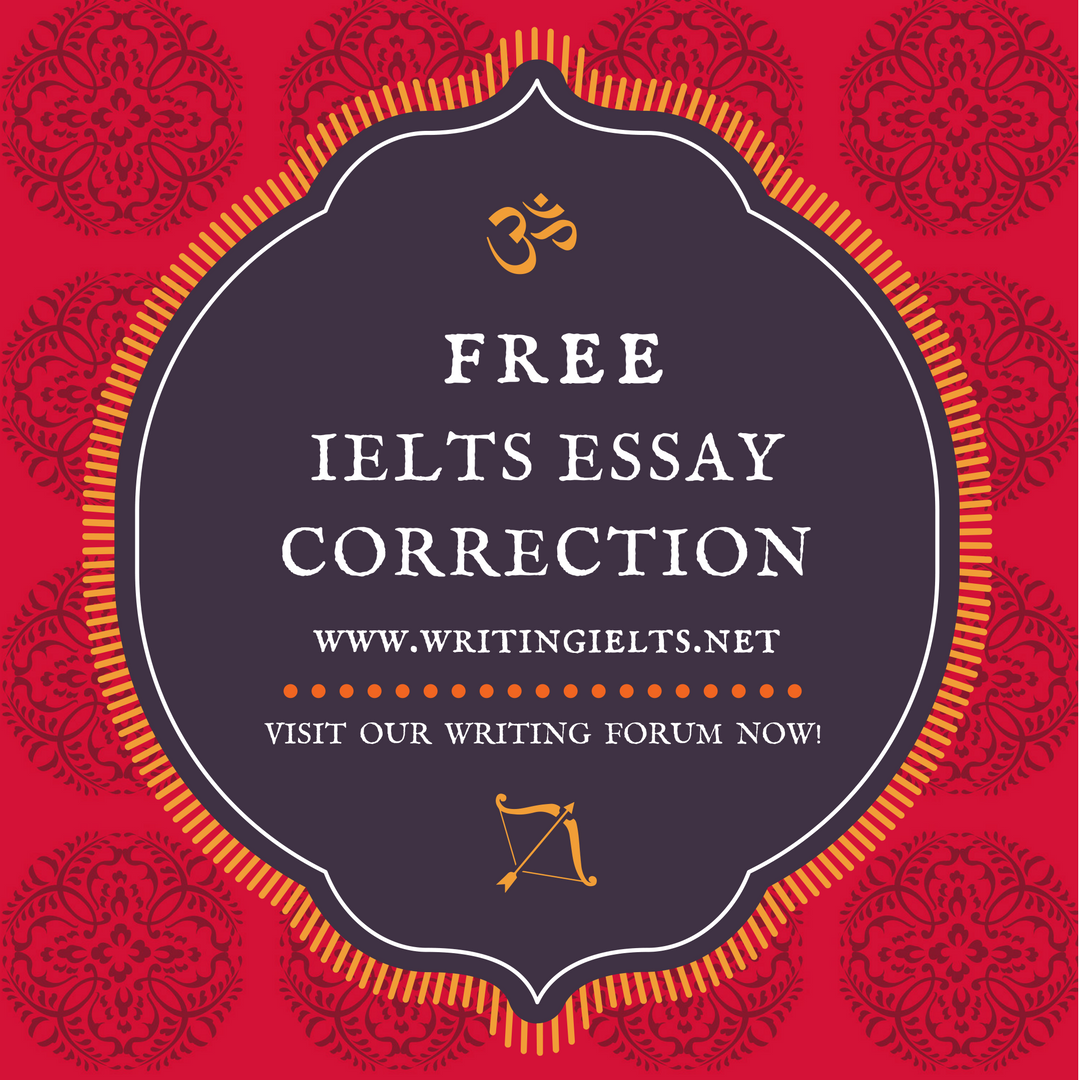 Free IELTS Essay Correction