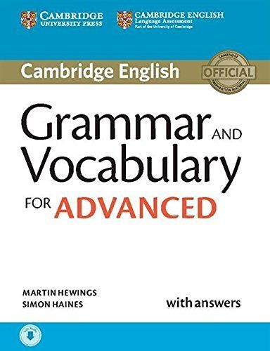 Cambridge Grammar And Vocabulary For Advanced (Ebook & Audio)