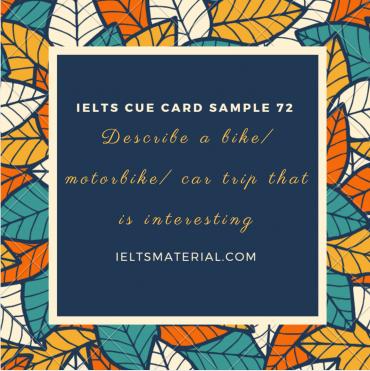 cue-card-72-interesting-trip