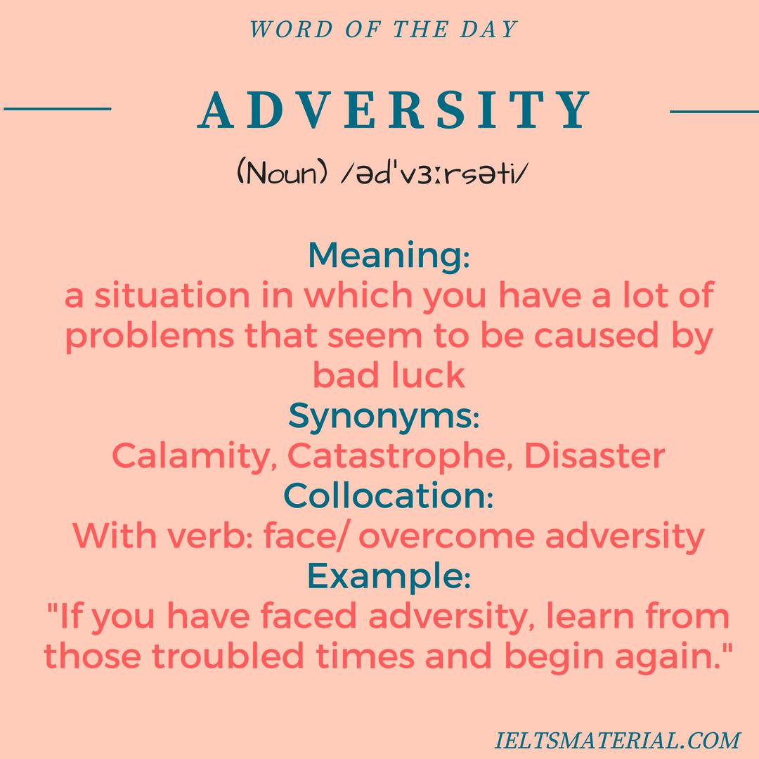 essay on overcoming adversity Overcoming adversity essay psychodad10 registered user posts: 1,190 senior member june 2012 edited june 2012 in college essays my.