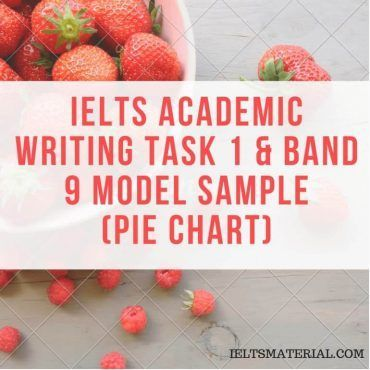 IELTS Academic Writing Task 1 (Pie Chart) & Band 9 Model Sample