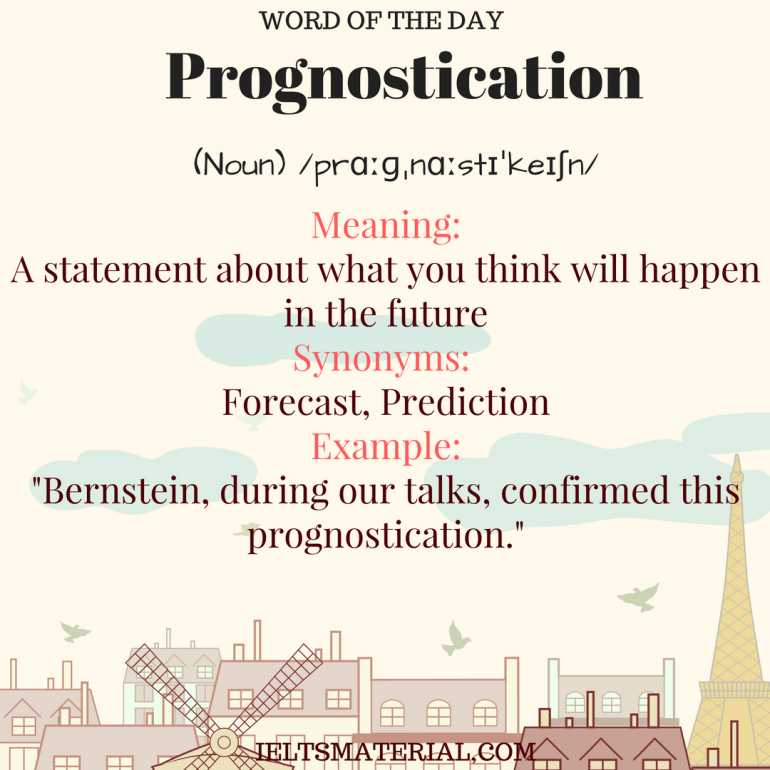 Image result for prognostication