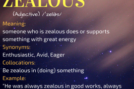 WORD OF THE DAY ZEALOUS