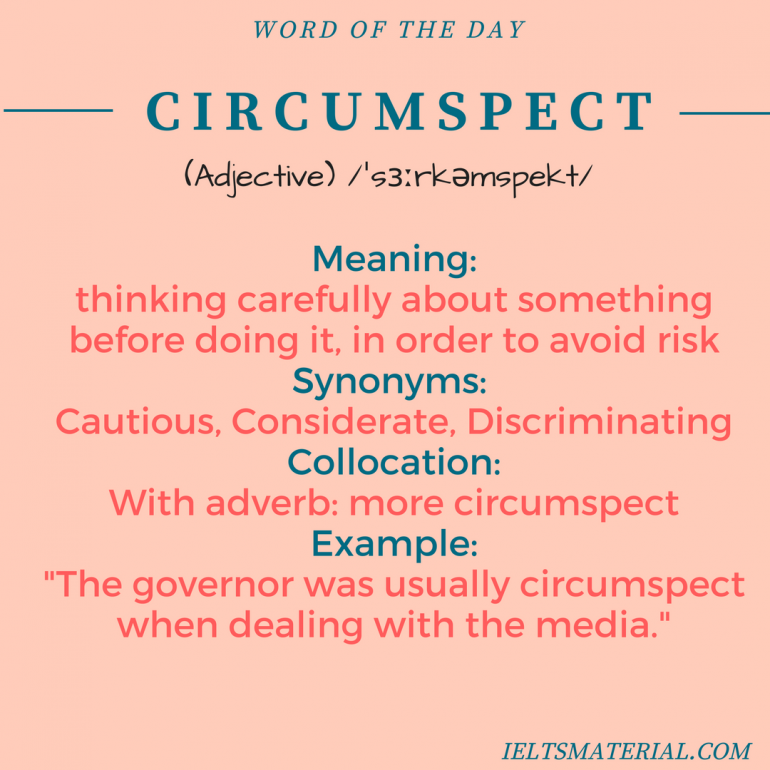 word-of-the-day - circumspect