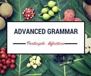 Advanced Grammar for IELTS: Participle (-ING or -ED) Adjectives