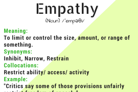 word of the day empathy