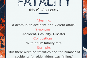 word of the day - fatiality