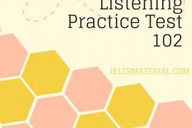 IELTS Listening Practice Test 102