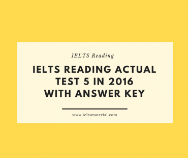 IELTS READING ACTUAL TEST 2 IN 2016 WITH ANSWER KEY (2)