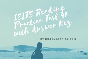 IELTS Reading Practice Test 48