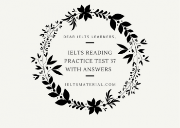 IELTS Reading Recent Actual Test 6 in 2016 with Answer Key
