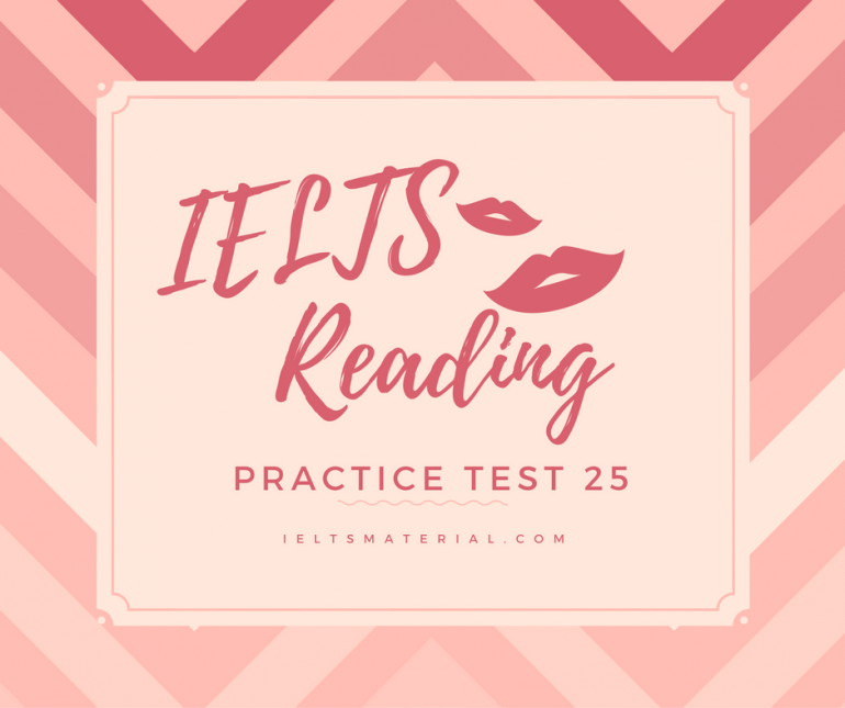 ielts sample reading test pdf