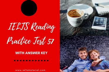 IELTS Reading Practice Test 57