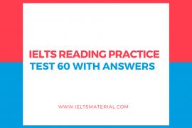 IELTS Reading Practice: IELTS Reading Recent Actual Test 1