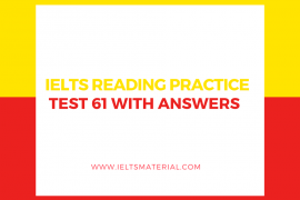 IELTS Reading Practice Test 01Solution - Free IELTS Practice Test