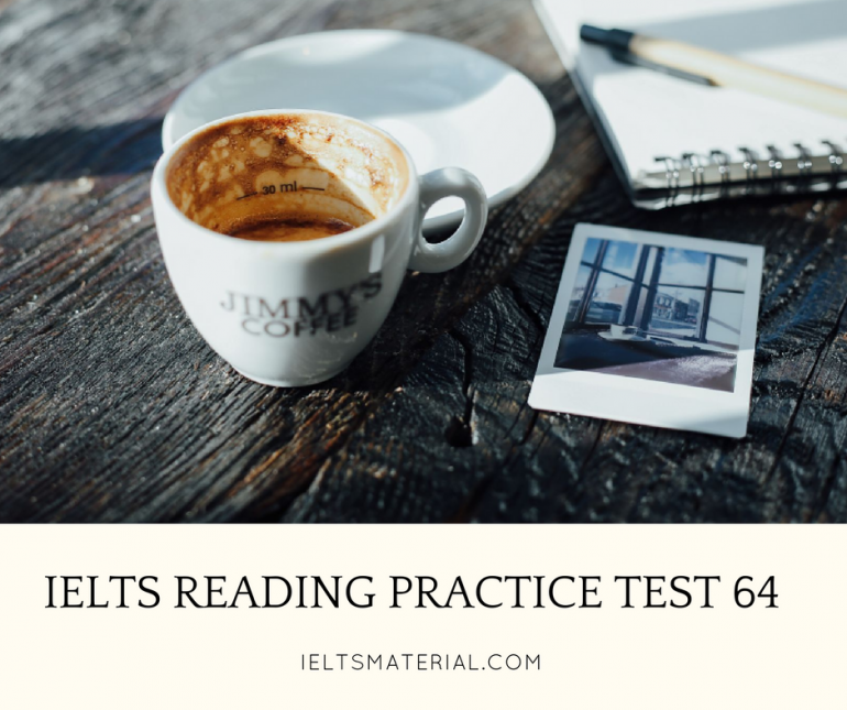 IELTS Reading Practice Test 64