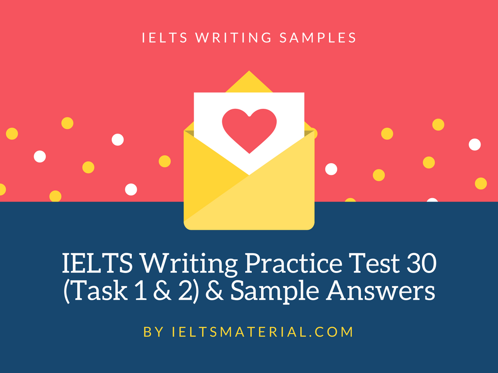 Ielts Essay Test Sample