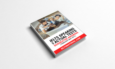 IELTS Speaking Actual Tests & Suggested Answers (Ebook)