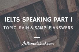 ieltsmaterial - ielts speaking part 1