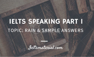 ieltsmaterial - ielts speaking part 1