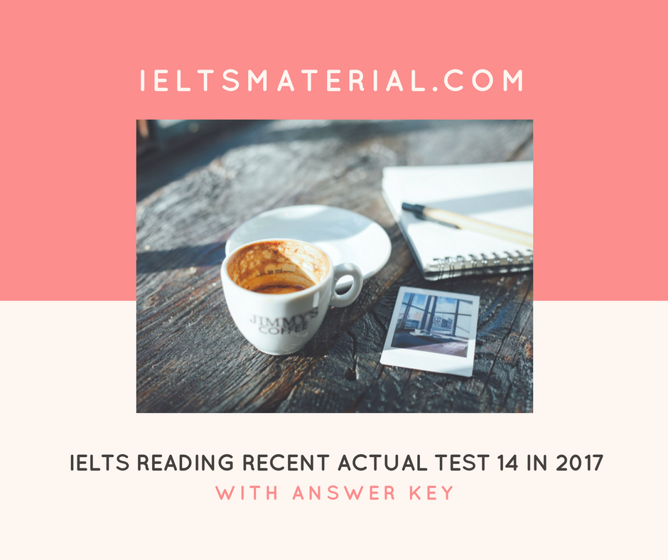 ielts recent actual test with answers pdf